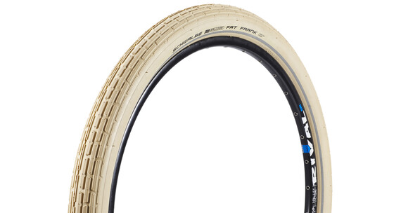 "SCHWALBE Fat Frank Opona Active 26"" SBC drut beżowy"